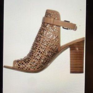 Via Spiga / Fleura caged laser cut  bootie sandal